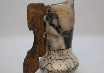 Gray Ceramic Jug