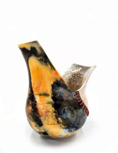 Ceramic Object - Raku and Smoke Firing
